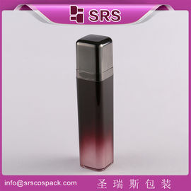 SRS 15ml 30ml 50ml luxury acrylic airless cosmetic square packaging for skincare products