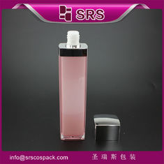 skin care packaging empty pink beauty lotion pump with bottle