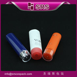 SRST 15ml 30ml 40ml 45ml plastic round shapr tube for cream