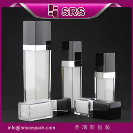 white bottle with black cap lotion pump,supplier cosmetic new products