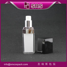 square shape L050 15ml 20ml 30ml 50ml lotion bottle china supplier