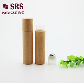 customized plastic roll on metal ball empty water printed no leakage hair serum bottle