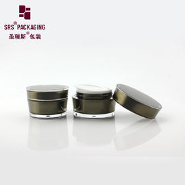 China paint custom color luxury cosmetic empty body cream jar supplier