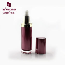 China 15ml 30ml different size cosmetic plastic lotion acrylic paint bottle supplier