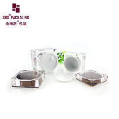 China empty cosmetic packaging 50g 80g nail gel acrylic jar cosmetic supplier