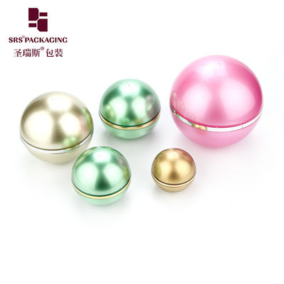 China ball shape customized color acrylic empty skin care cream jar 5g supplier